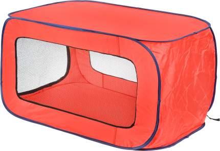 Домик для собак Kitty City Переносной, красный, синий, 91.4x55.9x55.9см