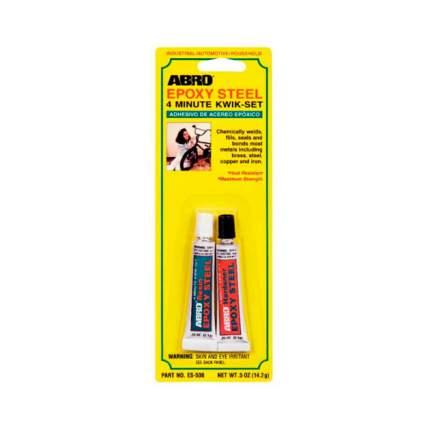 Клей эпоксидный двухкомпонентный, черный 14,2 гр. ABRO ES-508 (производство США)