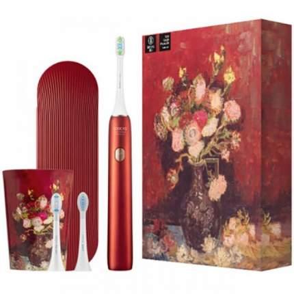 Зубная щетка электрическая Soocas Toothbrush X3U Van Gogh Museum Design Red