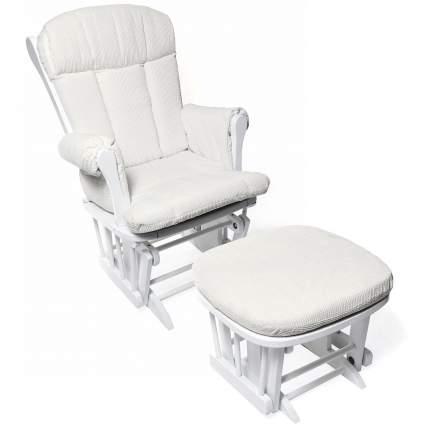 Кресло-качалка для кормления Nuovita Bertini Bianco, Белый