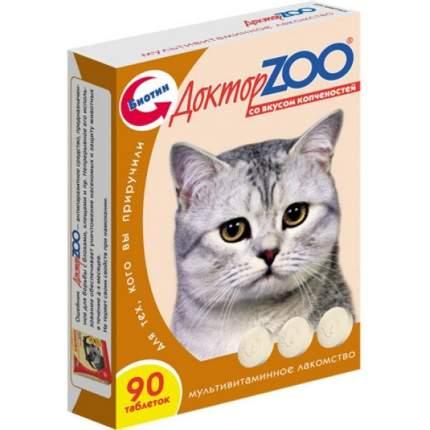 Витаминный комплекс для кошек Доктор ZOO Для кошек, со вкусом копченостей 90 таб