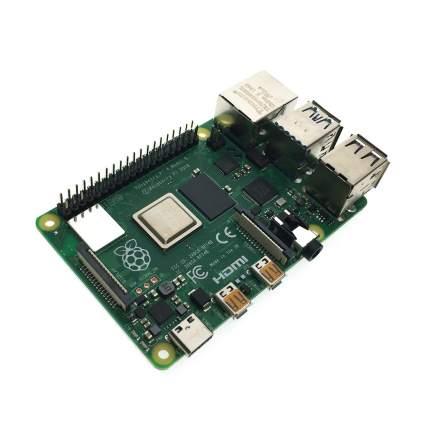 Микрокомпьютер Raspberry Pi 4 Model B 4Gb