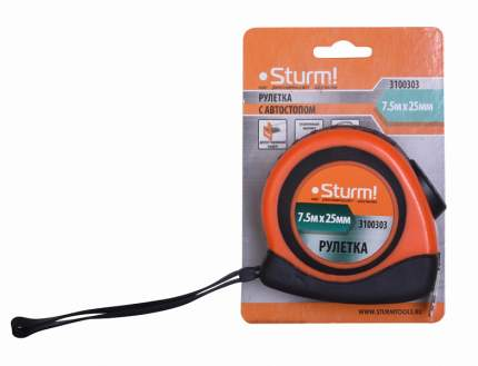 Рулетка Sturm! 3100303