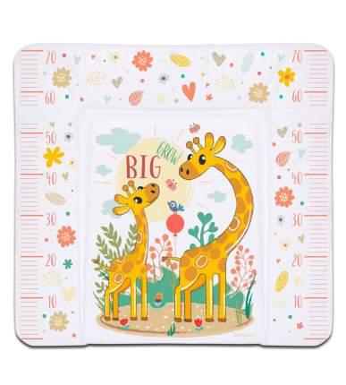 Матрас для пеленания Babycare 82х73х21, Жираф