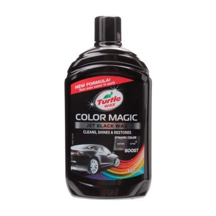 Полироль Turtle Wax Color Magic Jet Black Wax 53237 0,5 л черный