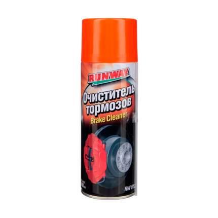 Очиститель тормозов RUNWAY 400 мл RW6121
