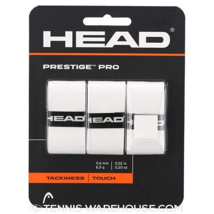 Овергрип Head Prestige Pro, -, белый, для разного уровня