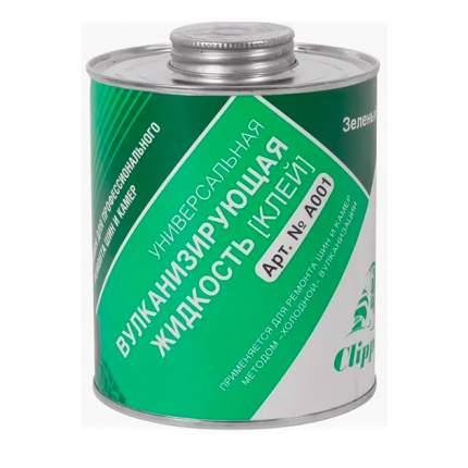 Клей шиномонтажный, зеленый 1л CLIPPER A001