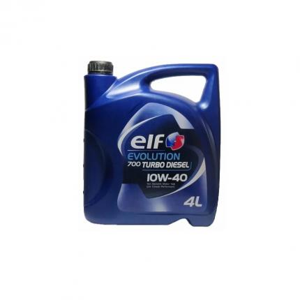 Моторное масло elf Evolution 700 Turbo Diesel 10W-40 4л