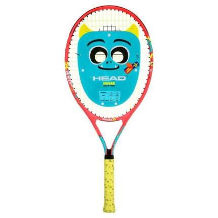 Ракетка для большого тенниса Head Novak 25 синяя/красная/желтая