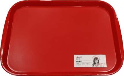 Поднос Giaretti Bono 470х355х25 мм цвета сочный томат