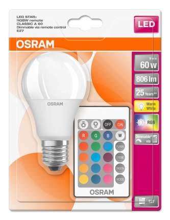 LED Star Classic A60 9W 2700K E27 RGBW DIM (лампа диммируемая с пультом)