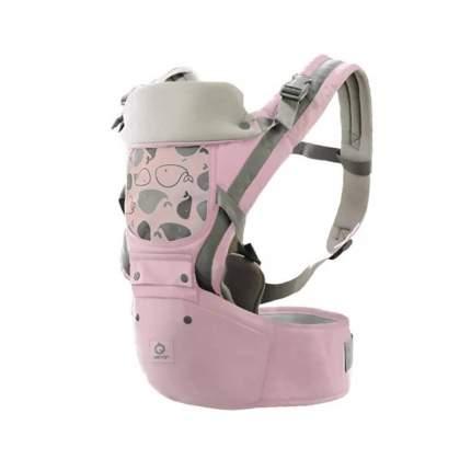 Эргорюкзак-хипсит Aiebao 3-36 месяцев, розовый без сетки