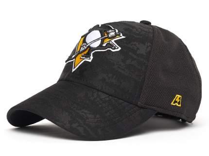 Бейсболка Atributika&Club Питтсбург Пингвинз 31095 черная