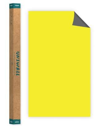 Самоклеющиеся магнитно-меловые обои желтый Continent Decor ROLLS-120-300-DSA