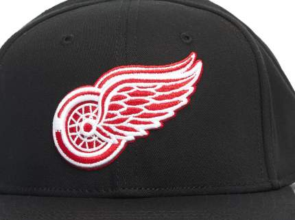 Бейсболка Atributika&Club Детройт Ред Уингз 31087 черная