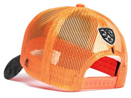 Бейсболка Atributika&Club Амур 10847 оранжевая/черная