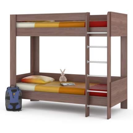 Двухъярусная кровать Mobi Ника 438М ясень шимо темный, 209х100х179 см