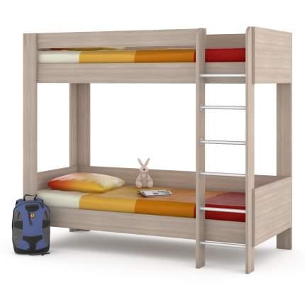 Двухъярусная кровать Mobi Ника 438М ясень шимо светлый, 209х100х179 см