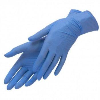 Перчатки нитриловые SFM размер M голубые 100 пар