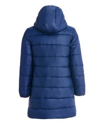 Пальто для девочек Button Blue, цв. синий, р-р 98