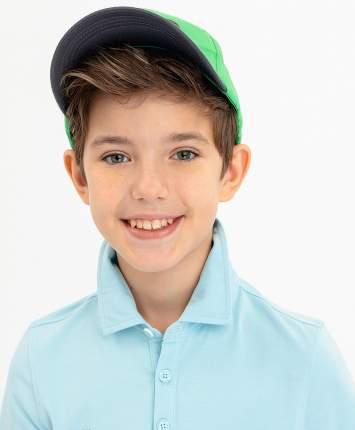 Бейсболка для мальчиков Button Blue, цв. зеленый, р-р 54
