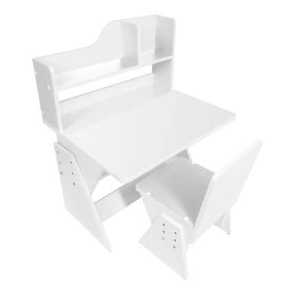 Детская растущая парта и стул Я САМ Классик Белый
