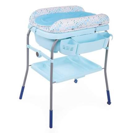 Пеленальный столик с ванночкой Chicco Cuddle & Bubble Comfort Ocean