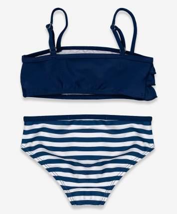 Купальник для девочек Button Blue, цв. синий, р-р 140-146