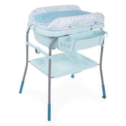 Пеленальный столик с ванночкой Chicco Cuddle & Bubble Comfort Dusty Green