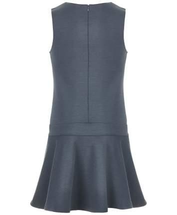 Сарафан для девочек Button Blue, цв. серый, р-р 170