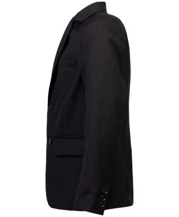 Пиджак для мальчиков Button Blue, цв. черный, р-р 134
