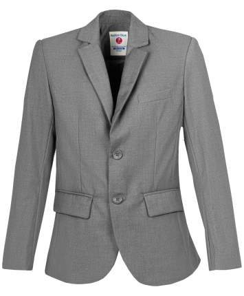 Пиджак для мальчиков Button Blue, цв. серый, р-р 128