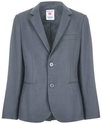 Пиджак для мальчиков Button Blue, цв. серый, р-р 164