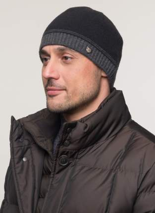 Шапка мужская Totti 40652 черная 56-58