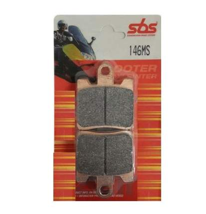 Тормозные колодки передние SBS 146MS 146ms