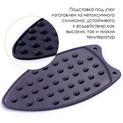 Силиконовая подставка для утюга, черный, 14х26,5 см, Blonder Home BH-STND2-05
