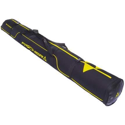 Чехол для горных лыж Fischer Alpine Race 1 Pair, black/yellow, 190 см