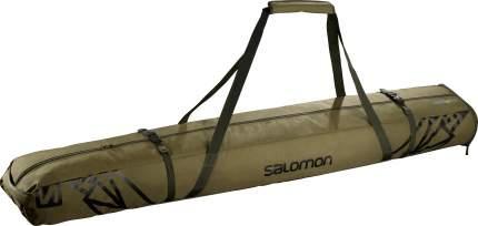 Чехол для беговых лыж Salomon Extend 2Pairs Skib, зеленый, 195 см