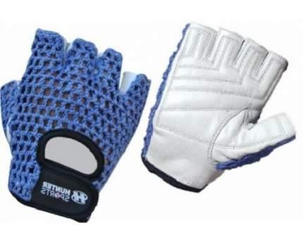 Перчатки для фитнеса и атлетики Hunter Sports HSF-320-2-A, синие, M