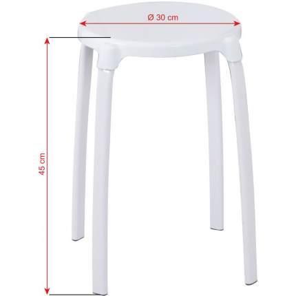 Табурет RIDDER А1050101 30х30х45 см, белый
