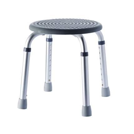 Табурет RIDDER А0060307 34х34х53 см, серый/хром