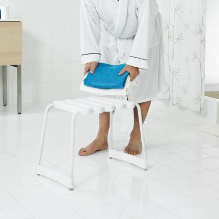 Табурет RIDDER А00500101 40х31х43 см, белый