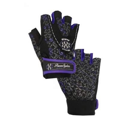 Перчатки для фитнеса и атлетики Power System PS-2910, фиолетовые, M