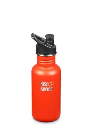 Бутылка Klean Kanteen Classic Sport 0,53 л оранжевая