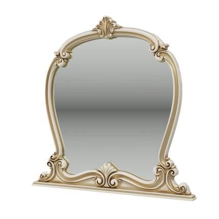 Зеркало Мэри-Мебель Грация СГ-08 слоновая кость, 112х7х109 см
