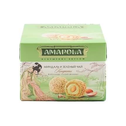 Конфеты Amapola миндаль и зеленый чай 100г