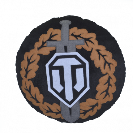 Декоративная подушка World of Tanks Награда Воина WG043330