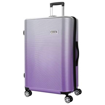 Чемодан Sun Voyage Elit фиолетовая волна XL