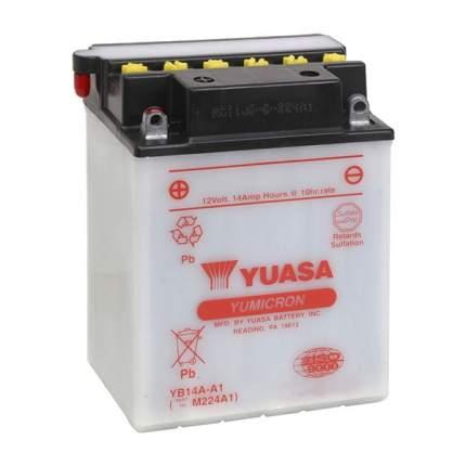 Аккумулятор Yamaha YB1-4AA10-00-00 /BTY-YB14A-A1-00 /BRP 715900171 Yuasa YB14A-A1 YB14A-A1